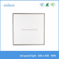 48w square 600x600mm led ceiling light for kitchen bathroom