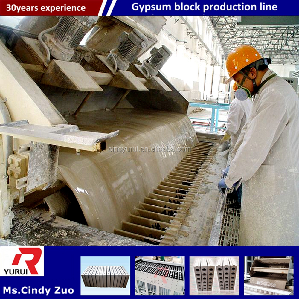 gypsum hollow core block making machine/small manual gypsum block making machine