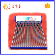 home use shower room hot water heater solar evacuated tubes for sale