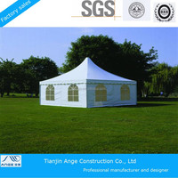 2015 new product customized design 2040 PVC pagoda party tent used for sale!