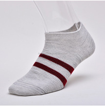 Breathable eco-friendly man short ankle fuzzy fashionable sporty sock