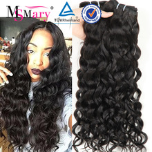 Alibaba Factory Wholesale Virgin Malaysian Grey Remy Human Hair Weave