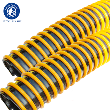 High Quality Fiber braided flexible PVC spiral suction hose pipe