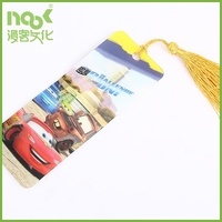 standard bookmark size cartoon characters paper 3d lenticular attractive bookmark