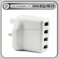 5v 1.2a micro usb wall charger 4pin USB-c wall charger for pad ,iphone ,samsung note3