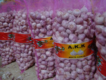 chinese pink garlic