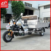 Three wheel 200cc 250cc Motorcycle Electric Scooter / Mini Truck Cargo Gas Powered 3 Wheel Tricycle with Big Cargo Box