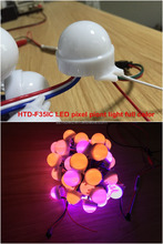 LED pixel led ws2811 30mm led rgb point lights milkly lens