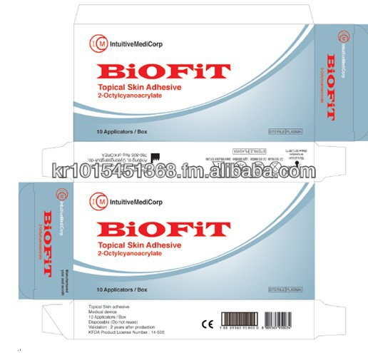 Topical skin Glue,Topical Skin Adhesive,BIOFIT,