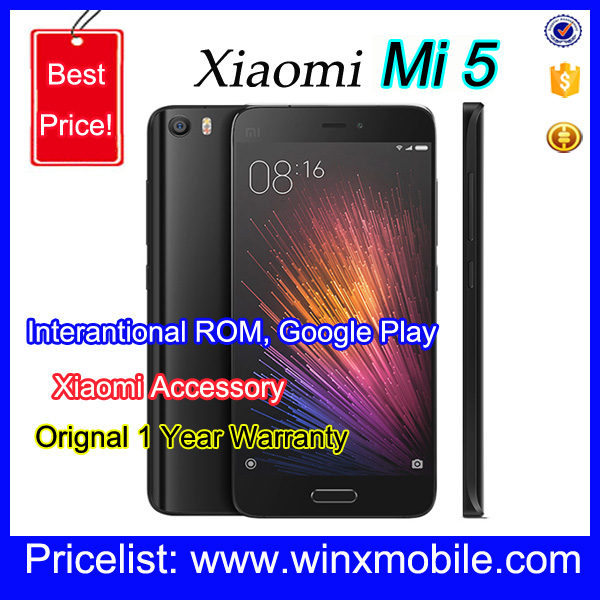Original Xiaomi Mi5 Pro 128GB 1920x1080 64GB Fast Charge 3.0 Smart mobile phone