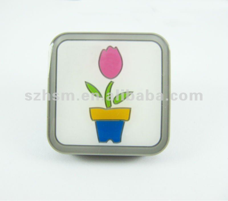 Lovely &cute& fresh feeling verious designs promotional protective rubber PVC Epoxy furniture handle