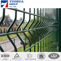 Triangle Fencing,PVC Coated Curvied Welded Fence