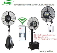 26/30inch remote control outdoor centrifugal water cooling fan to india