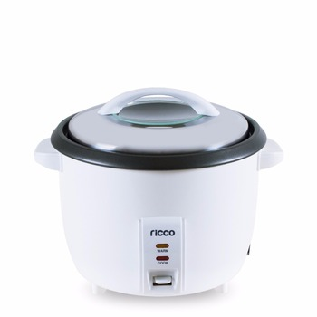 RC-180F stainless steel lid with glass window drum rice cooker