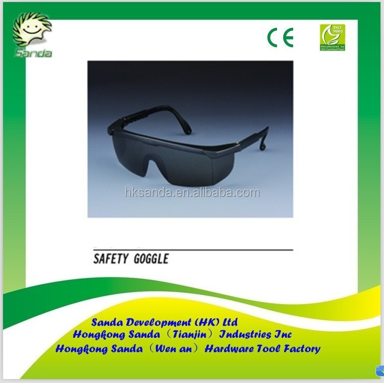 anti fog and uv protection safety goggles