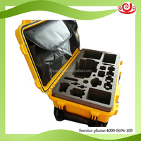Tricases factory plastic Storage tool case with waterproof for military equipment case M2500