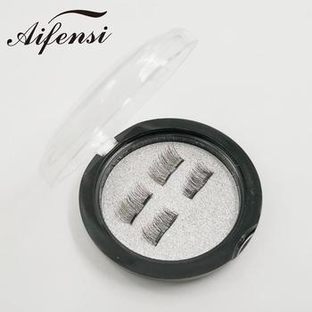 OEM service false eyelashes cruelty free silk lashes box magnetic 3d silk eyelashes