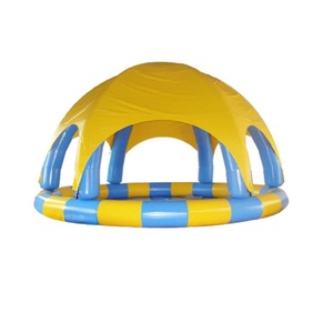 New style inflatable adult swimming pool with tent