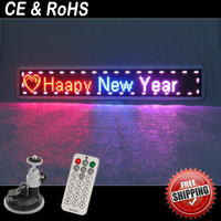 Free shipping led matrix sign display/electronica led clocks display/led usb module advertising panel display board