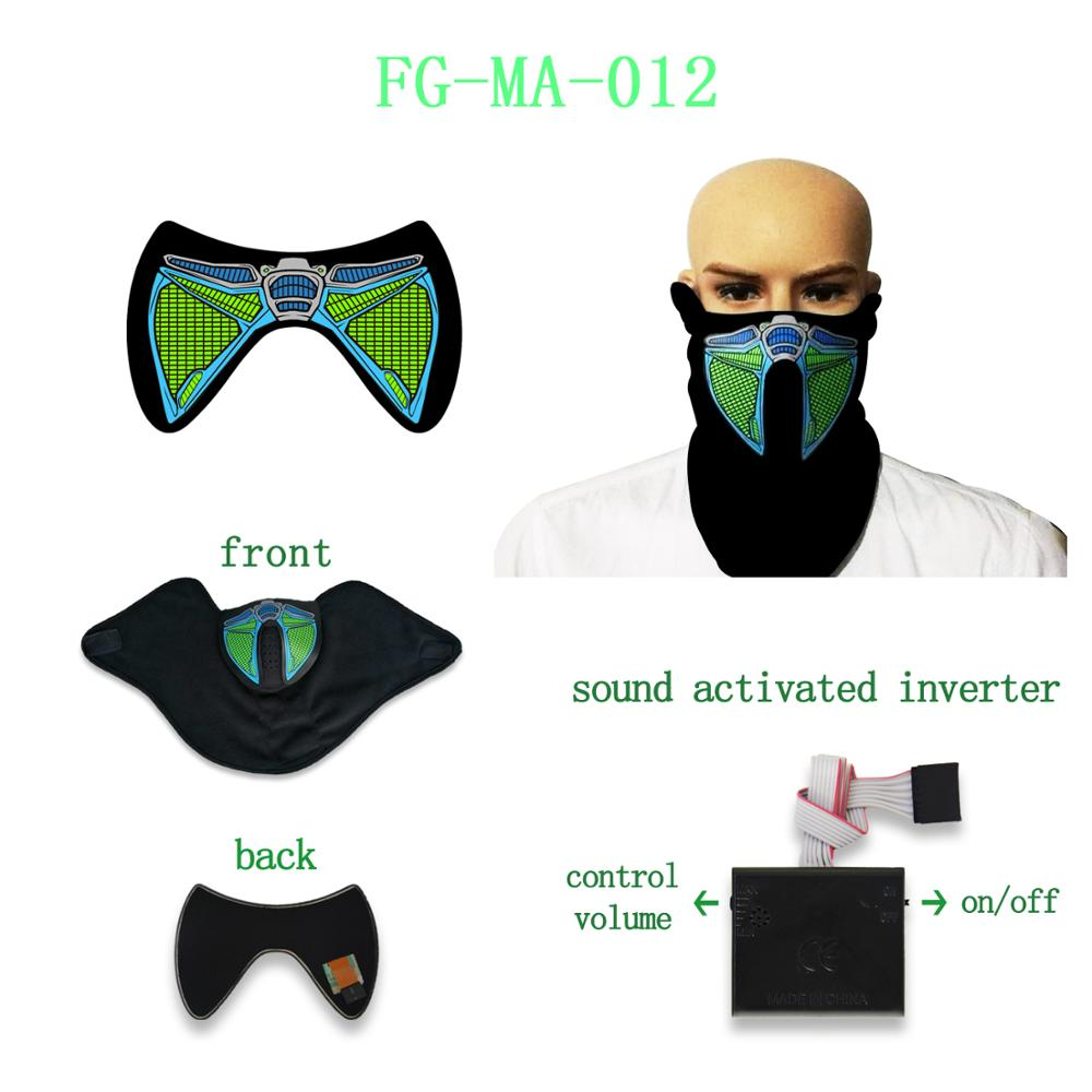 2018 hot selling el mask for el party mask high quality massive stocks and short delivery