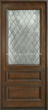 Decorative Glass Inserts Wooden Doors Interior DJ-S5348M