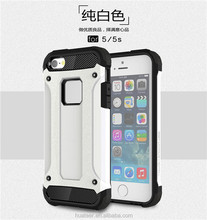 high quality pc+tpu phone case for iPhone5,10 Color super Armor/armour mobile phone case for apple iphone 5 case 4.7 inch