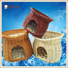High quality new design outdoor rattan wicker dog bed