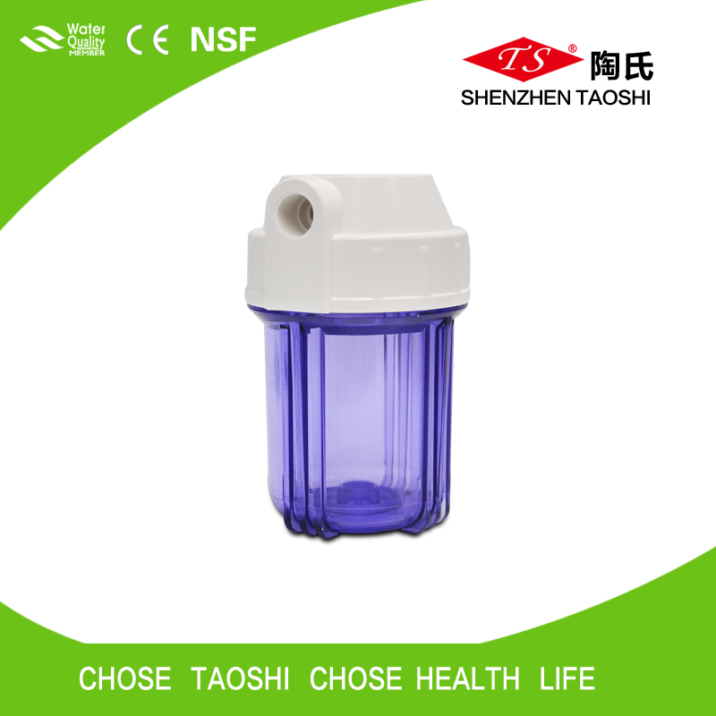 high quality pp material 5 inch filter housing with exthernal thread for water purifiers