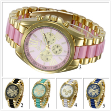 2016 new arrival colorful vogue reloj brand watch for women reloj mk