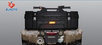 Motorcycle Capacity of Super Luxurious Sunken Design Back Open 85L ATV Rear Luggage Box Rear Tail PE Box