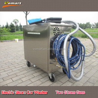 Electric steam car wash machine with two steam gun/best car detailing products