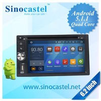 Wholesale cheap Android 5.1.1 OS FHD video player Built in Wifi 3G Dongle Bluetooth Car DVD player