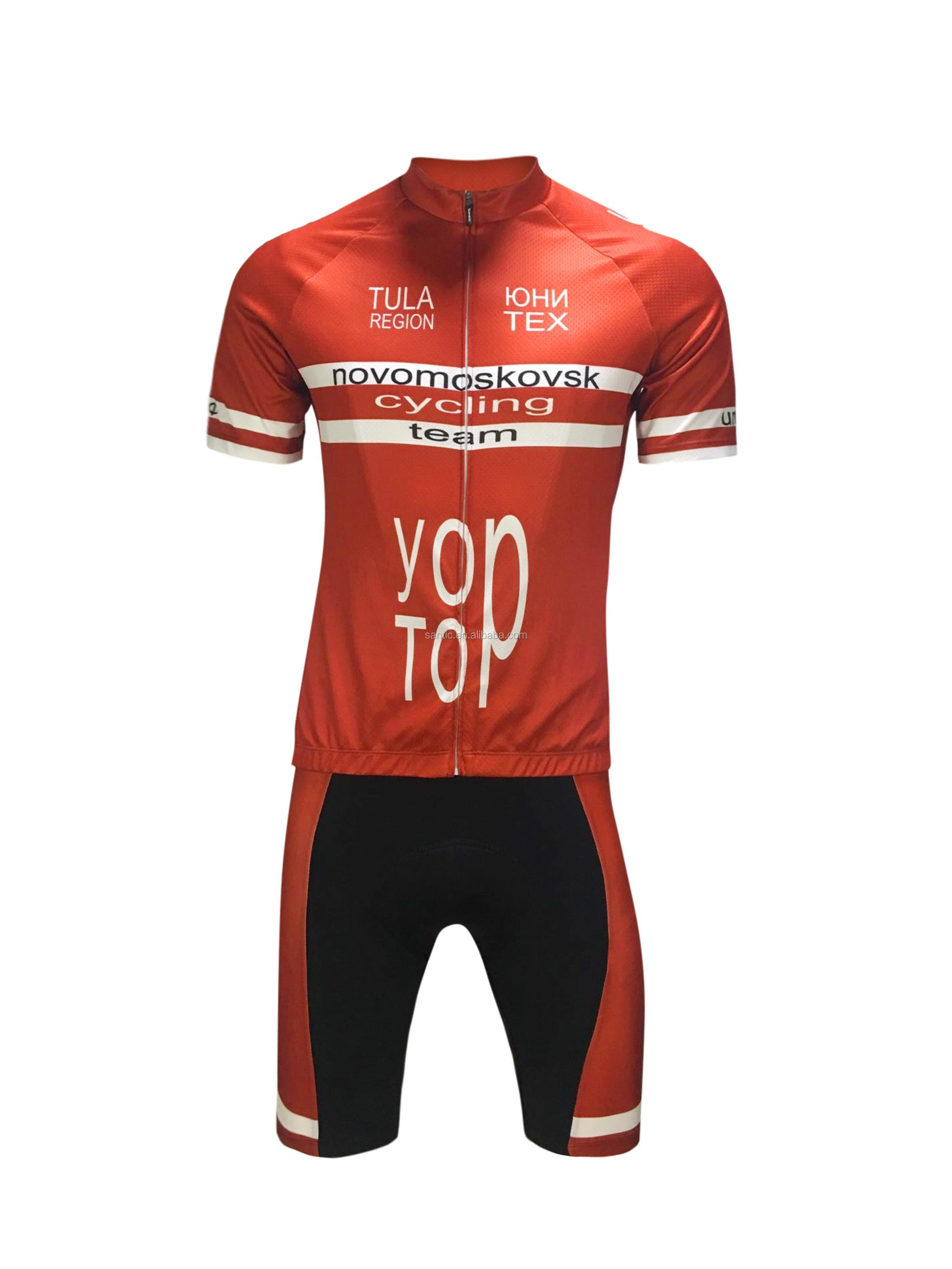 men short jersey custom sublimation cycling jersey