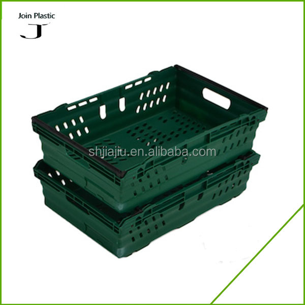 size 600*400*199mm Used Stackable plastic fruit crates