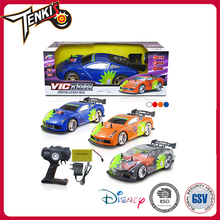 Shining light high speed kids remote control car