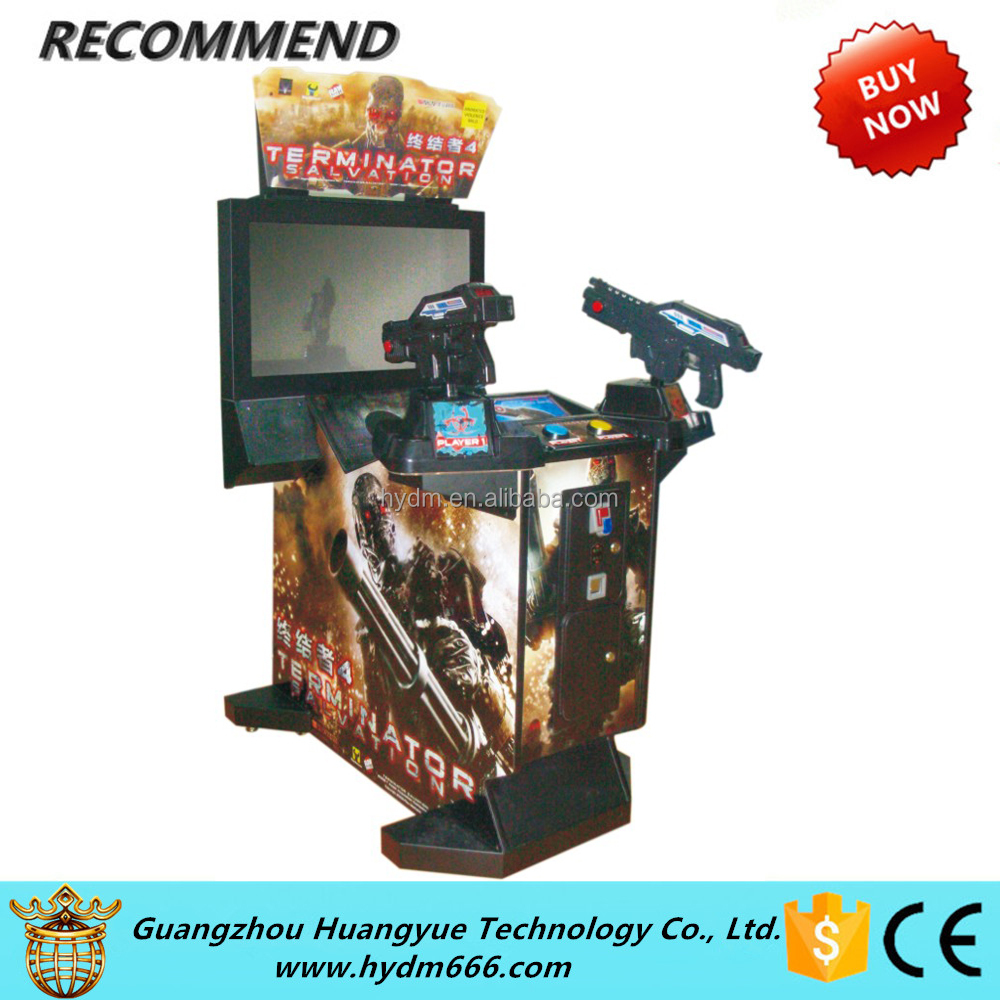 New Arrival Hot Sale Arcade Shooting coin operated game Terminator Salvation 32""