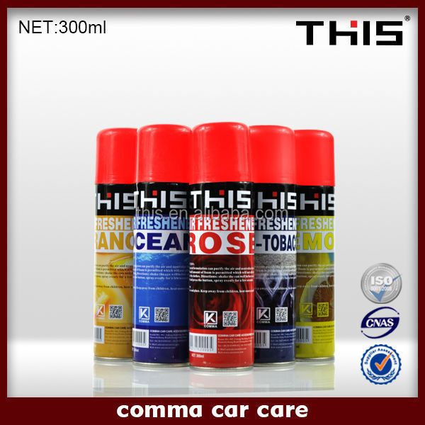 2015 high quality hot 300ml Household Spray Air Freshener Brands price
