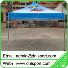 Tubo hexagonal de aluminio plegadora impermeable pop up carpa gazebo canopy