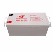 China manufacturing 12v200ah gel Deep Cycle Gel battery Top Quality GEL Type Battery