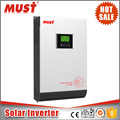 99.8% High Efficiency must solar inverter 3KVA 24V inverter price competitive