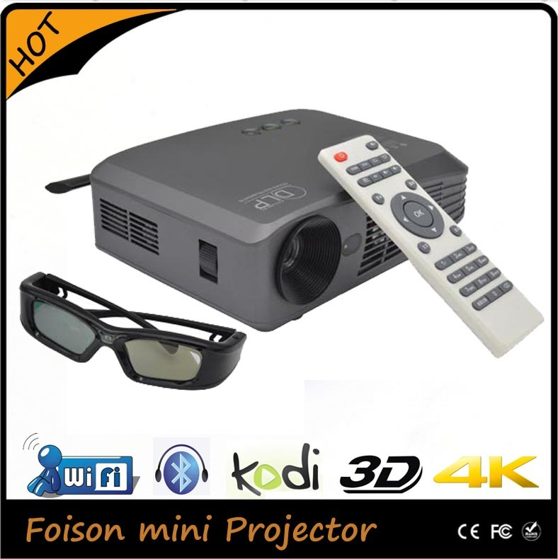 Smart Dlp Style Full Hd 3d Led Projector 4k Home Theater