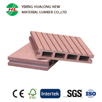 Wood Plastic Composite Decking for Outdoor or Swimming pool