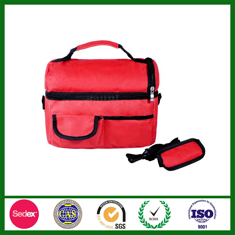 Oxford Fabric Insulated lunch picnic Cooler Bag