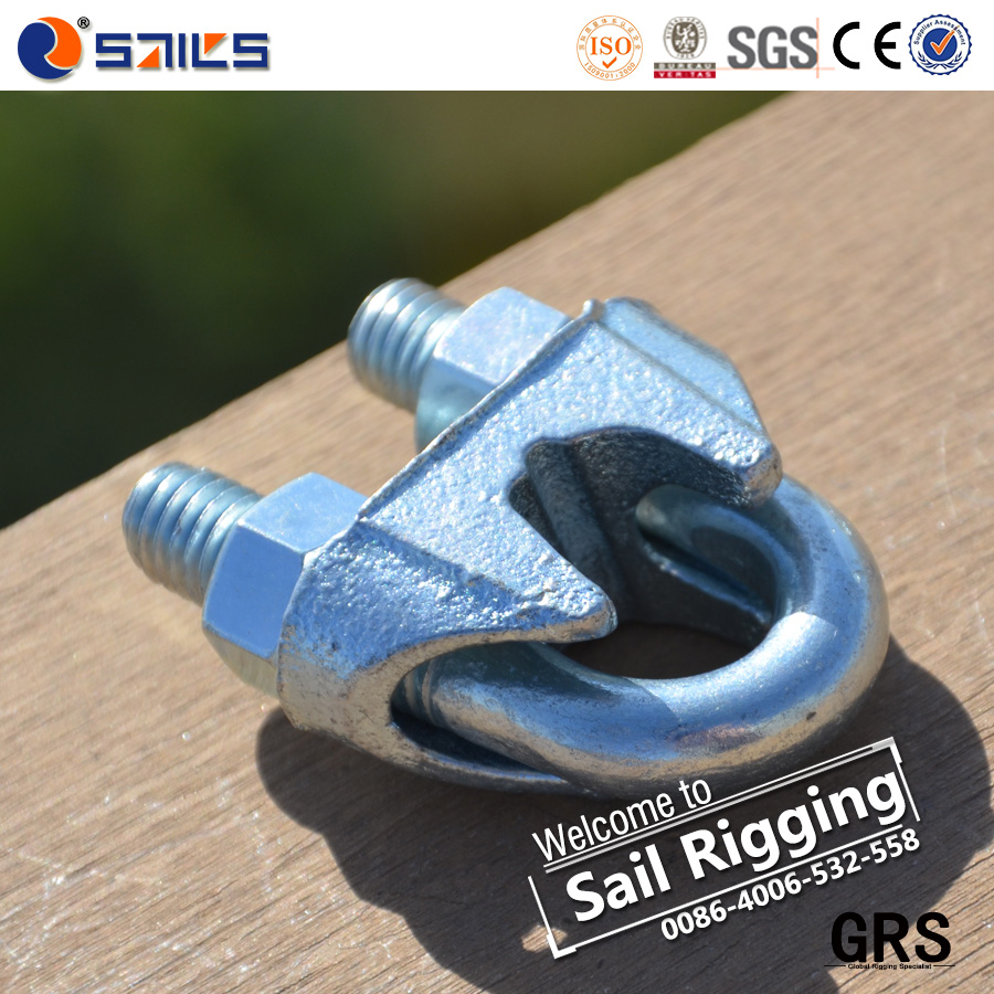 electrical galvanized us type malleable wire rope clips