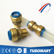 Tubomart DZR sharkbite brass push fit fittings for water tube