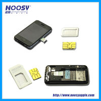 Mobile phone nano sim adapter for iphone 5 paypal is accepted