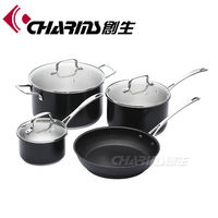 7pcs stainless steel real kitchen cookware