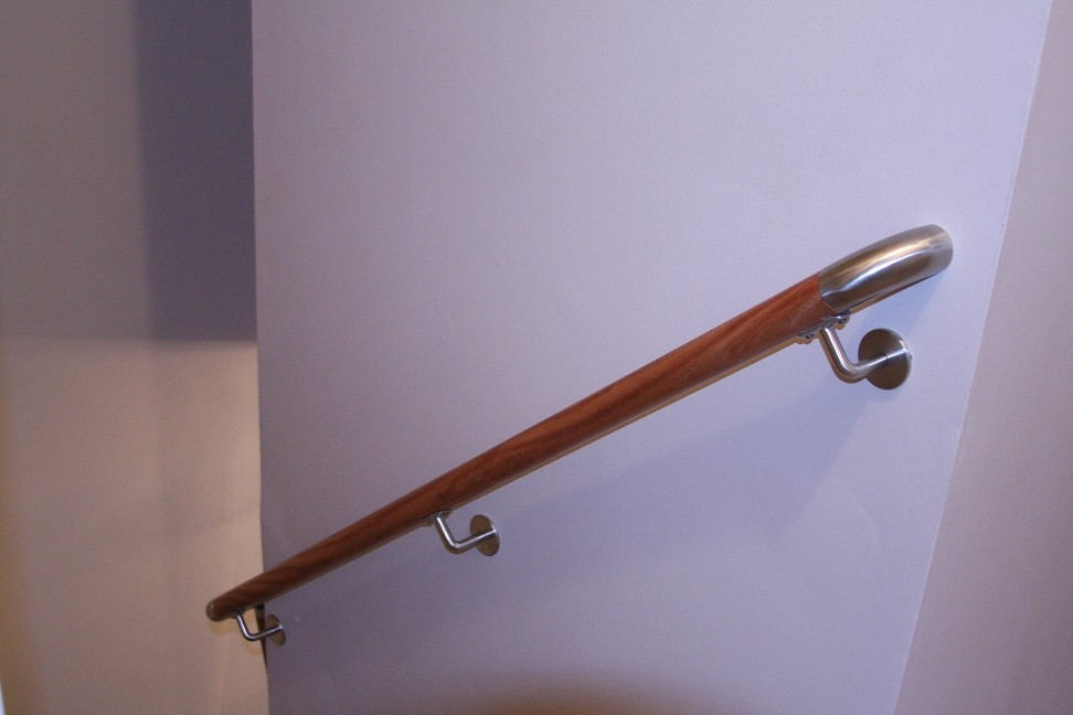 Handrail Stair Project Wall Mounted Glass Deck Railing