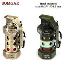 Creative military American soldiers M84 hand grenade lighter