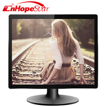 Cheap 15 inch lcd monitor square screen lcd monitor dc 12v with vga input